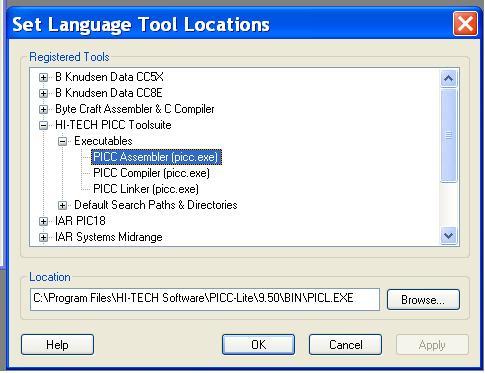 MPLAB IDE + HI-TECH PICC LITE Compiler
